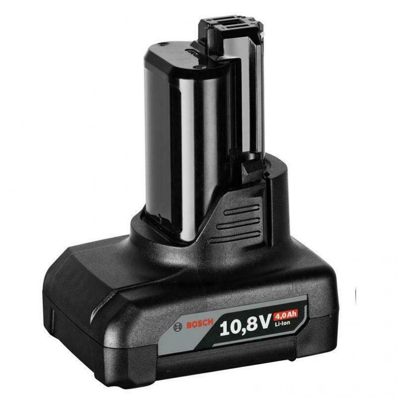 Bosch Ersatzakku GBA 10,8 / 12 Volt 4,0 Ah Li-Ion 1600Z0002Y 2607336779
