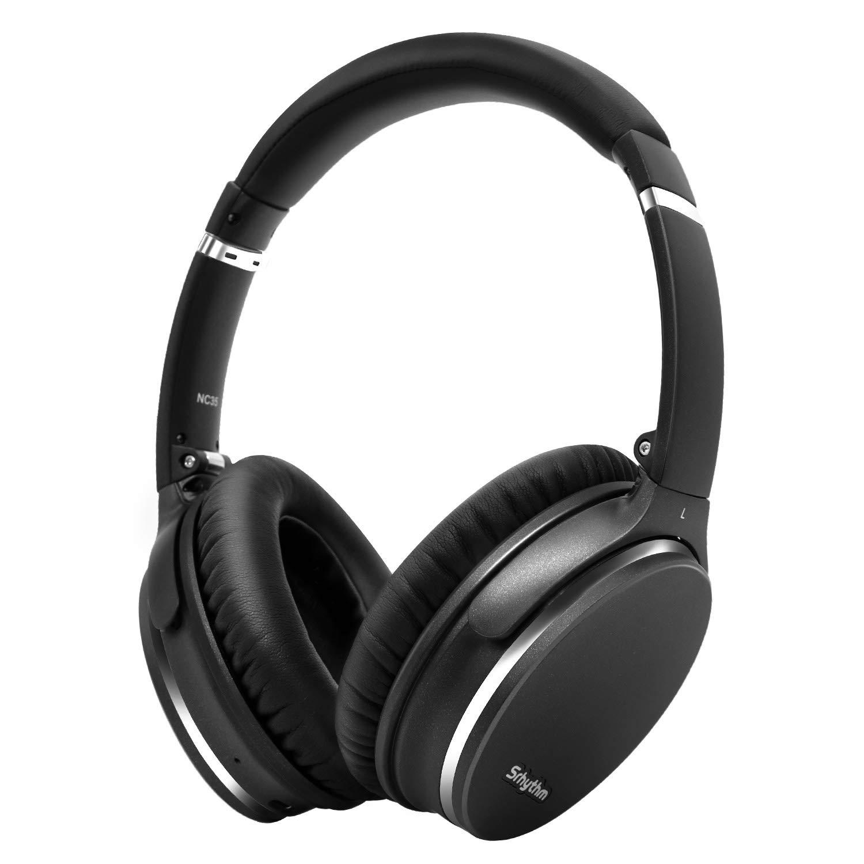 Noise Cancelling Kopfhörer, leicht, faltbar, kabellos mit Bluetooth 5.0,Srhythm NC35 Over-Ear