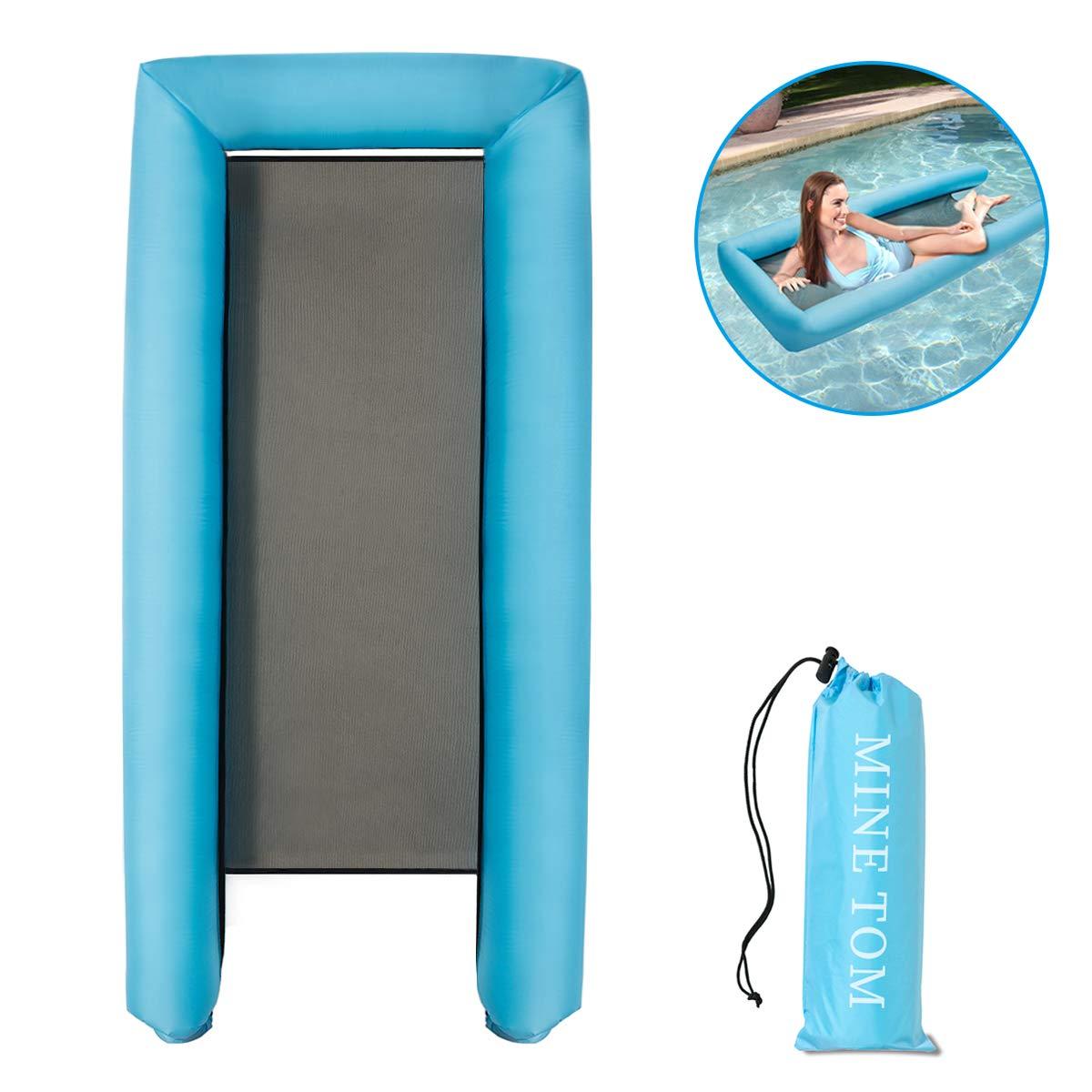 Minetom Pool Hängematte Wasserhängematte Luftmatratze