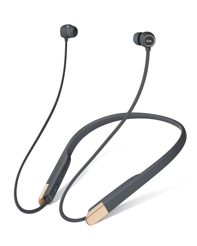AUKEY Bluetooth Kopfhörer mit Magnetische Play-/Pause-Funktion