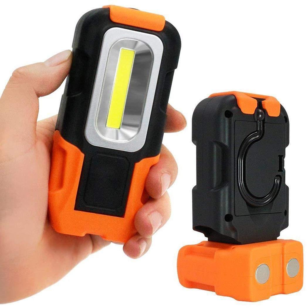 Wekold Mini-Taschenlampe COB 200 Lumen LED-Beleuchtung Taschenlampe
