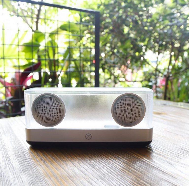 Inateck Transparenter Drahtloser Bluetooth 4.2 Lautsprecher