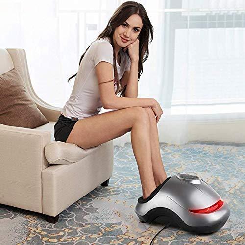INTEY Fußmassagegerät Shiatsu elektrisches Fussmassagegerät mit Wärmefunktion