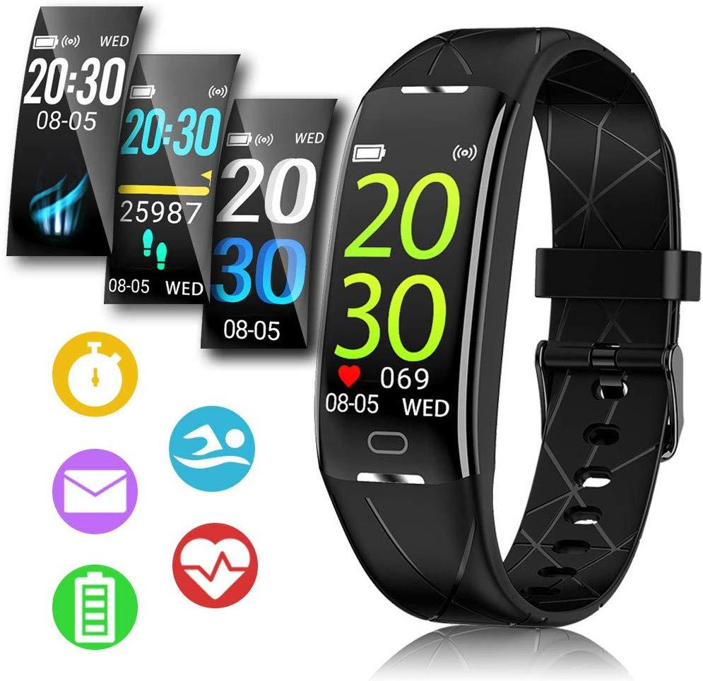 Fitness Armband, Sportuhren Herren Damen, Fitness Tracker