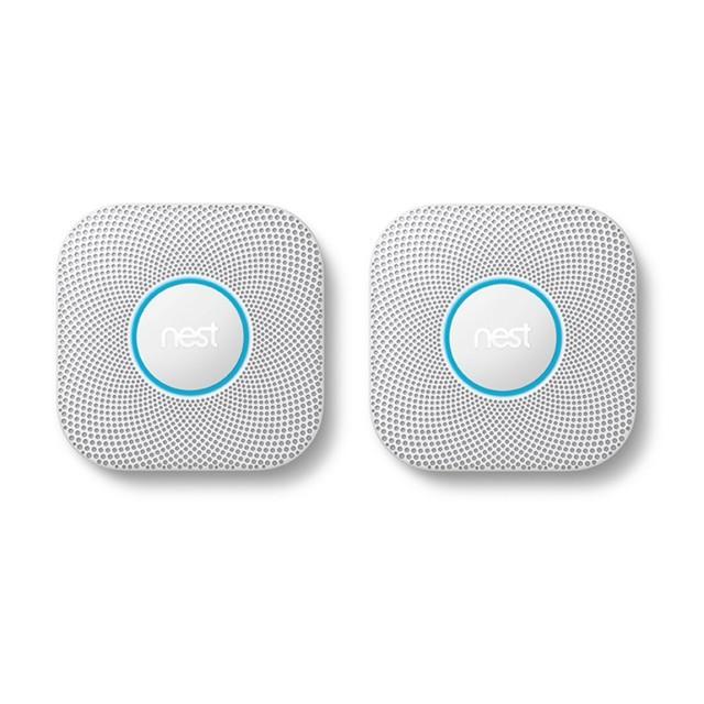 Google Nest Protect Doppelpack – Rauch- und Kohlenmonoxidmelder