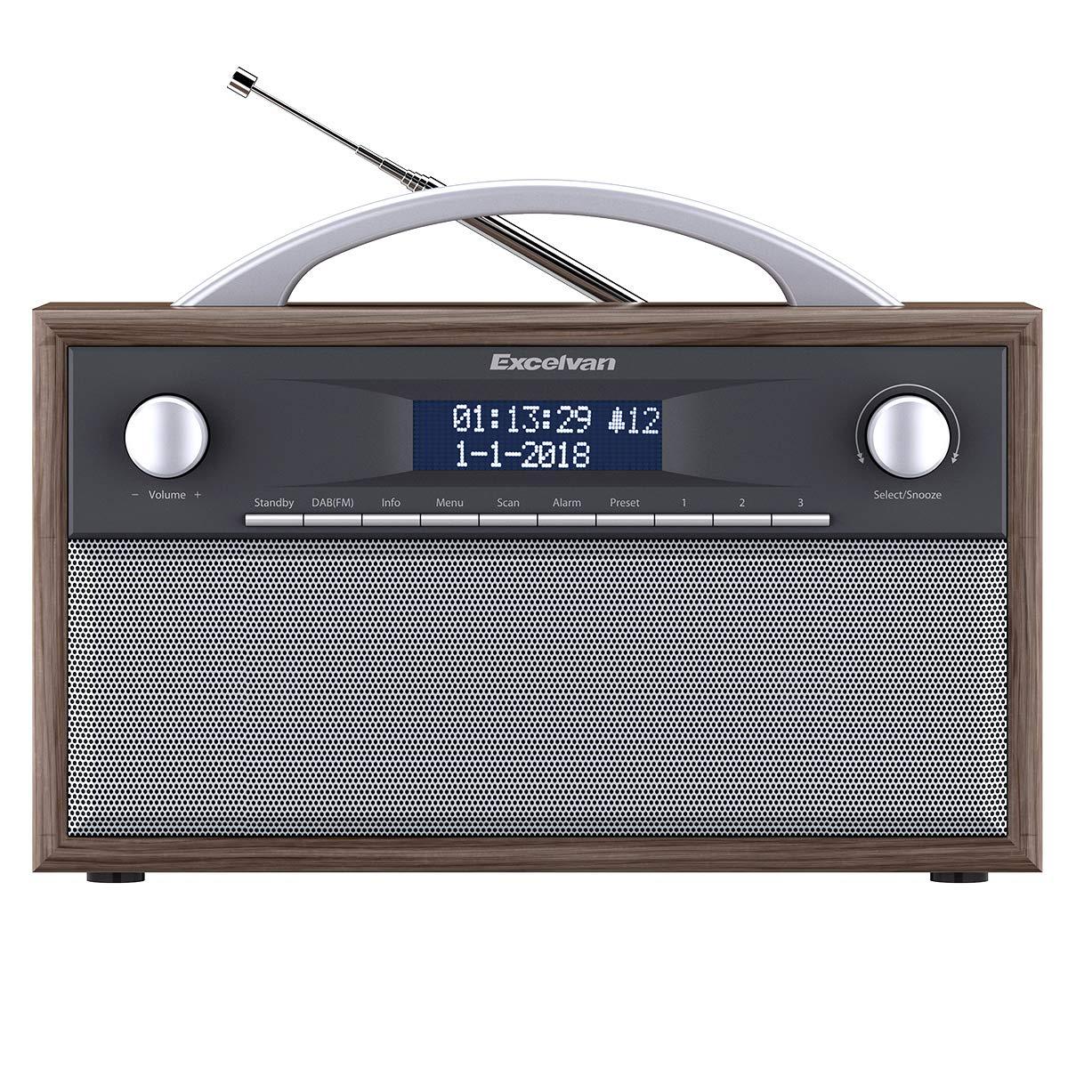 Excelvan DAB+ digital Radio UKW Retroradio AM/FM