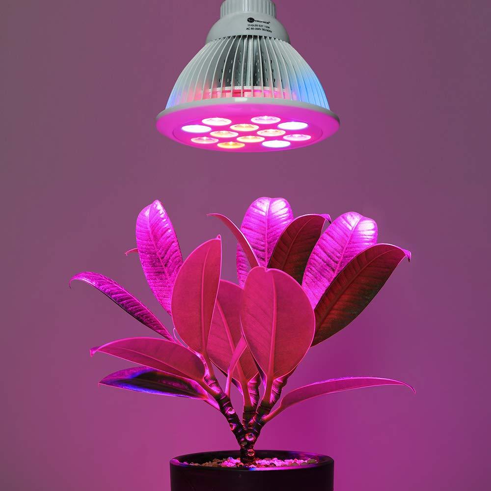 TaoTronics Pflanzenlampe für Garten Gewächshaus Zimmerpflanzen