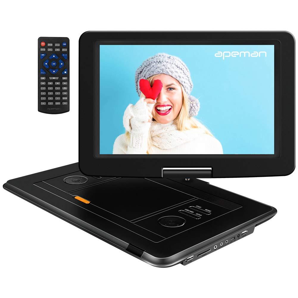 "APEMAN Tragbarer DVD Player Auto 15,5"" mit Eingebautem 6000mAh"