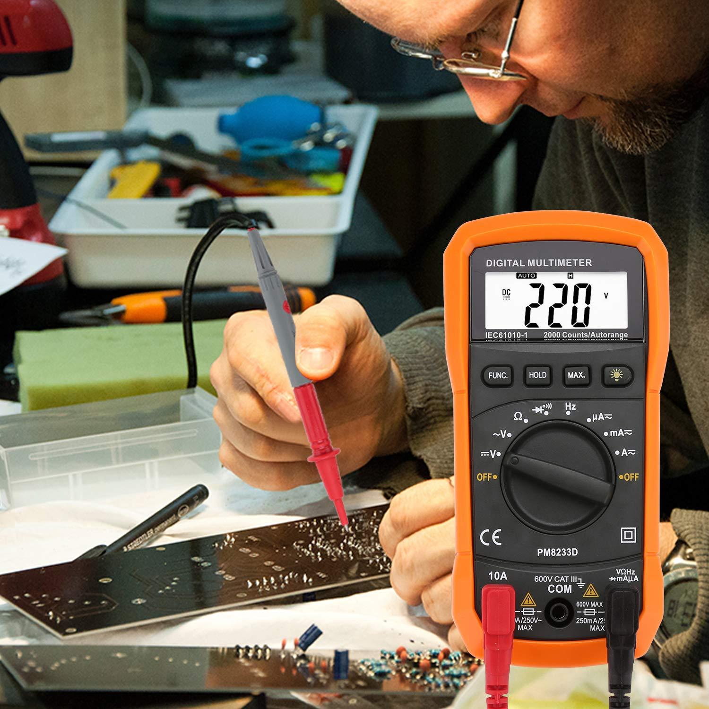Hengda Multimeter, 8233D Digital Multimeter cat III 600V