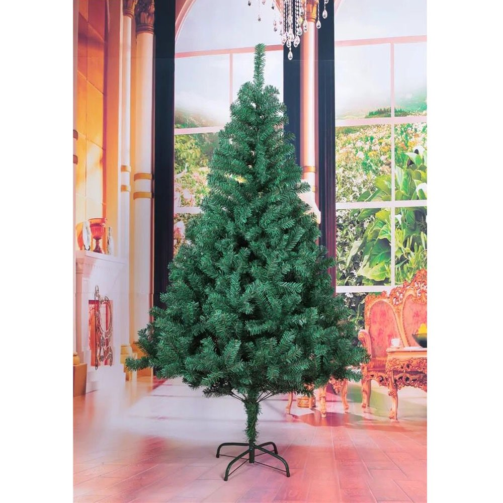 HENGDA® 150 cm ca. 350 Zweige Künstlicher Weihnachtsbaum Kiefer Grün