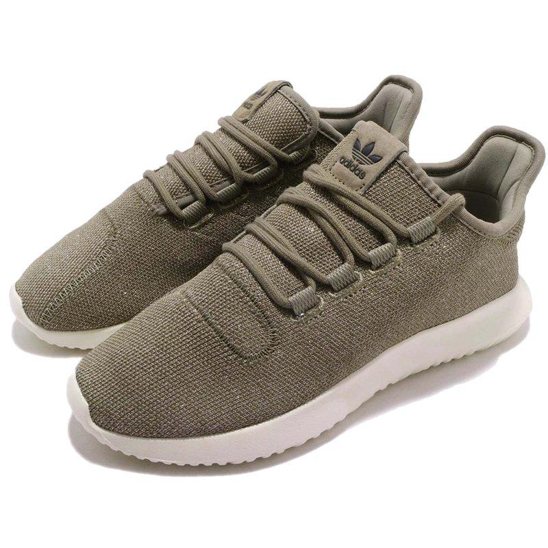 adidas Originals Tubular Shadow Damen Sneaker Khaki/weiß