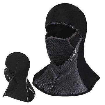 Unisex Winter Outdoor Black Waterproof Full Face Mask Hat