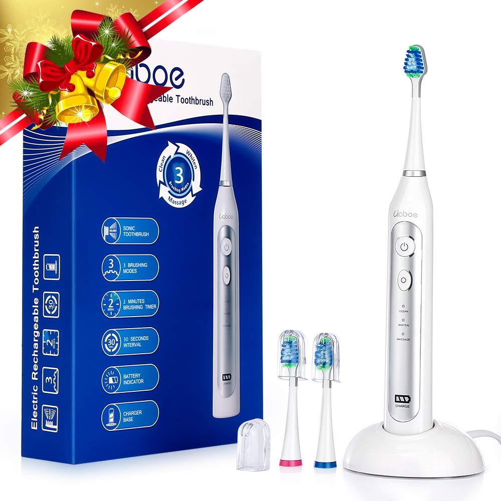 Elektrische Zahnbürste, wiederaufladbare Schallzahnbürste