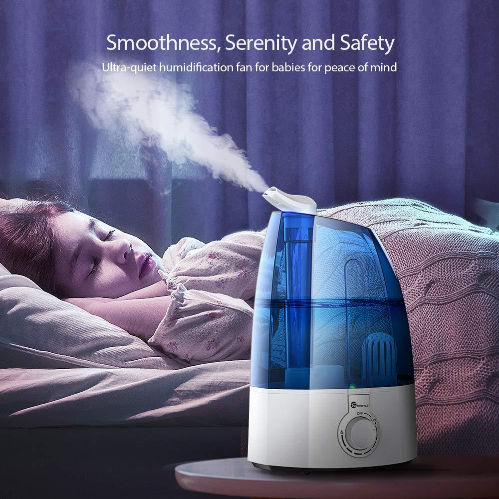 20,20€ - TaoTronics Luftbefeuchter Ultraschall Schlafzimmer mit