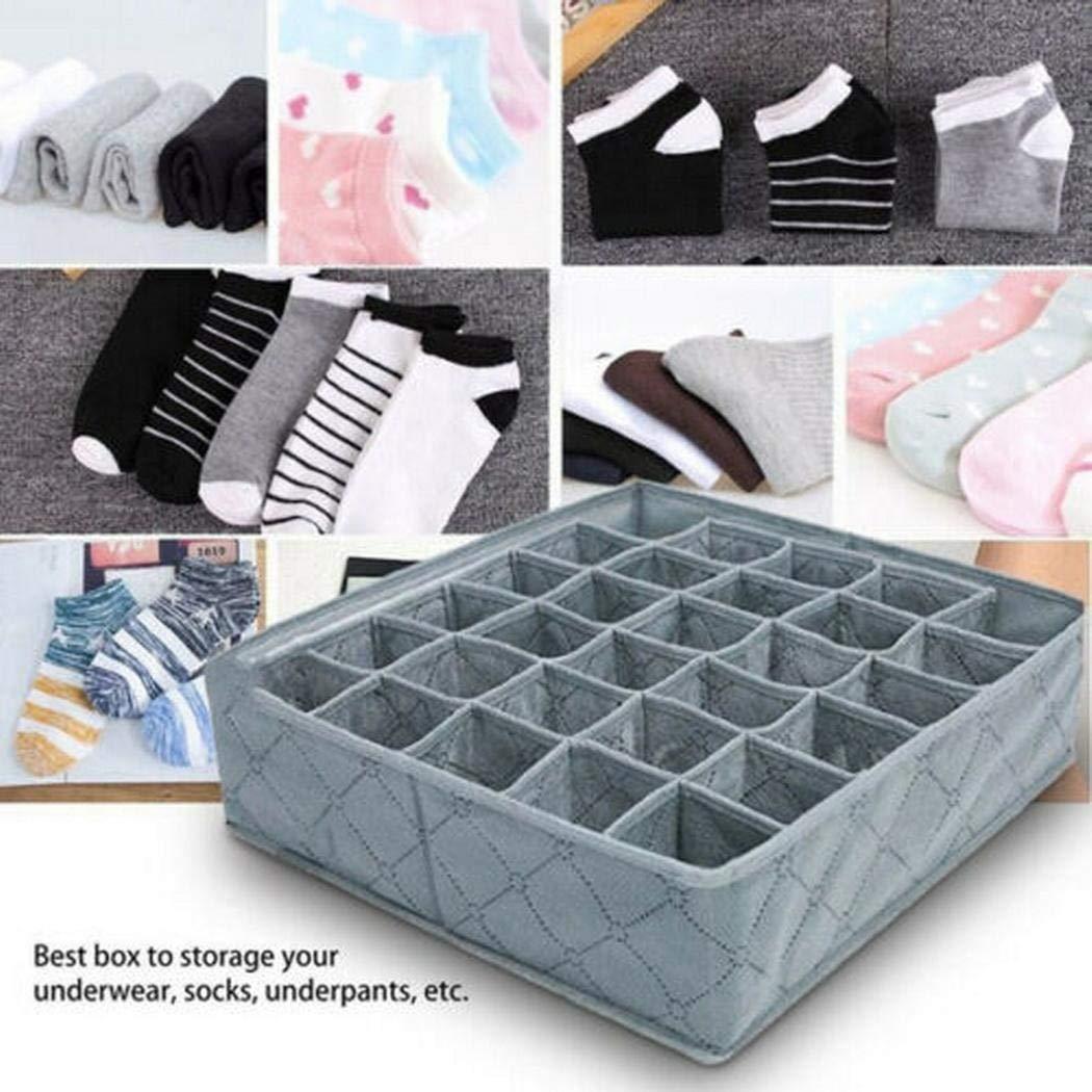 80% off 30 Grids Frei trennbare BHS Unterwäsche Socken Aufbewahrungsbox Schubladeneinsätze