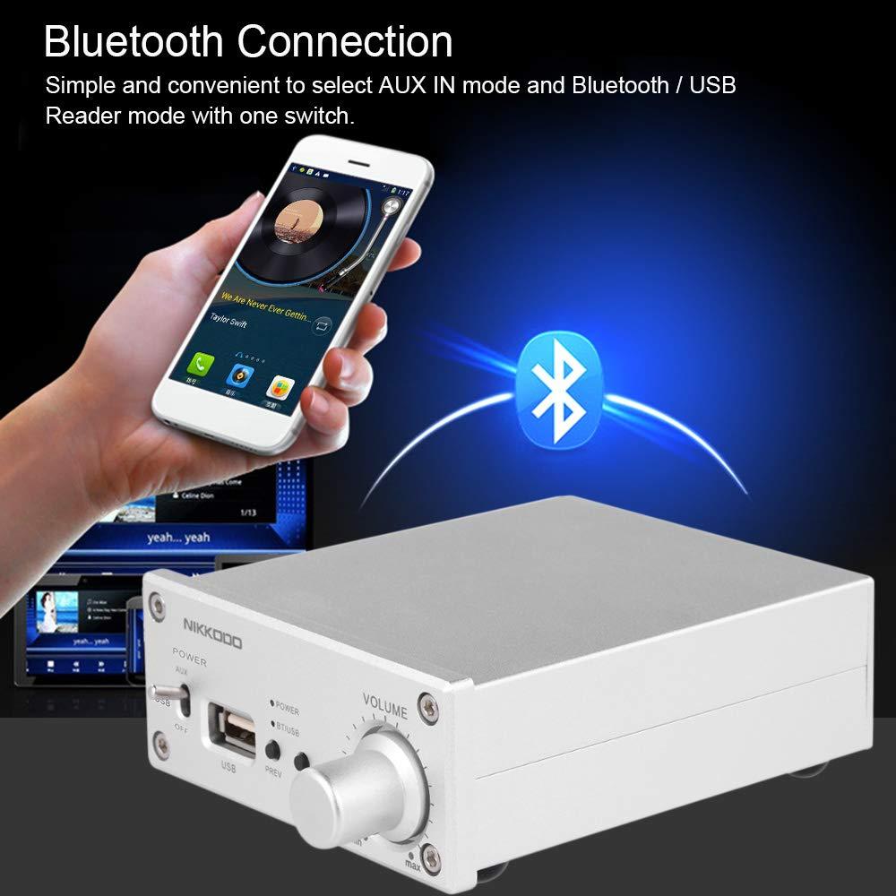 Docooler NK-268 Digital Audio Endstufe Bluetooth 4.0 Mini HiFi Audio Receiver