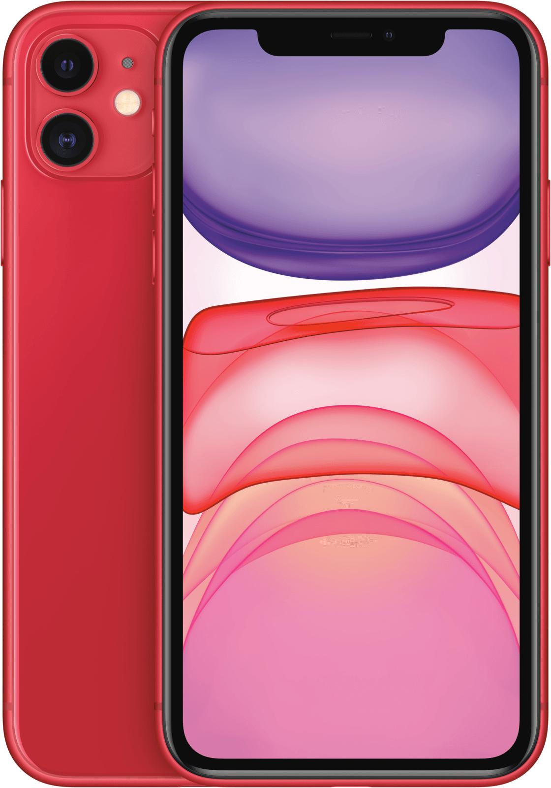 APPLE iPhone 11, Smartphone, 128 GB,Red, Dual SIM