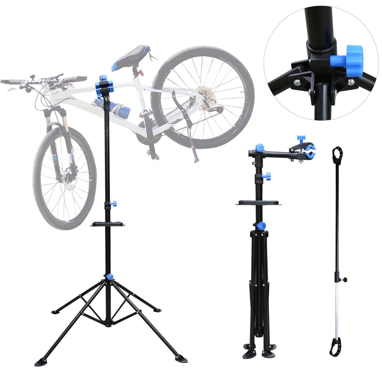 Hengda Fahrrad Montageständer vierbeiniger Werkzeugständer fürs Mountainbike