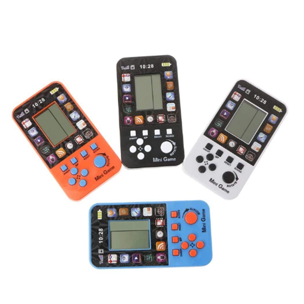 80% off Kindertelefon-Form LCD elektronisches Tetris-Ziegelstein-Spiel-Maschinen-Taschen-Puzzlespiel-Spielzeug