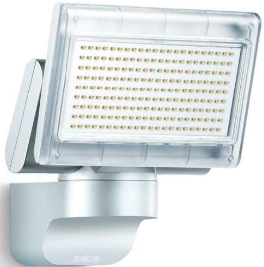 Steinel LED-Strahler Außenstrahler XLED Home 1 SL Außenlampe Silber
