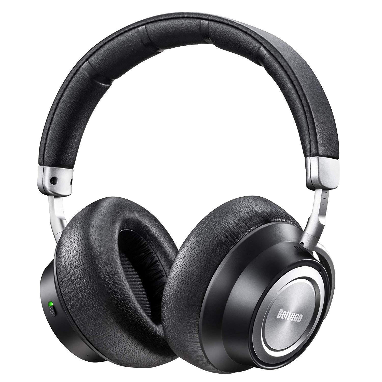 Boltune Noise Cancelling Bluetooth Kopfhörer 5.0 Over-Ear Ohrhörer Wireless ANC Headphones