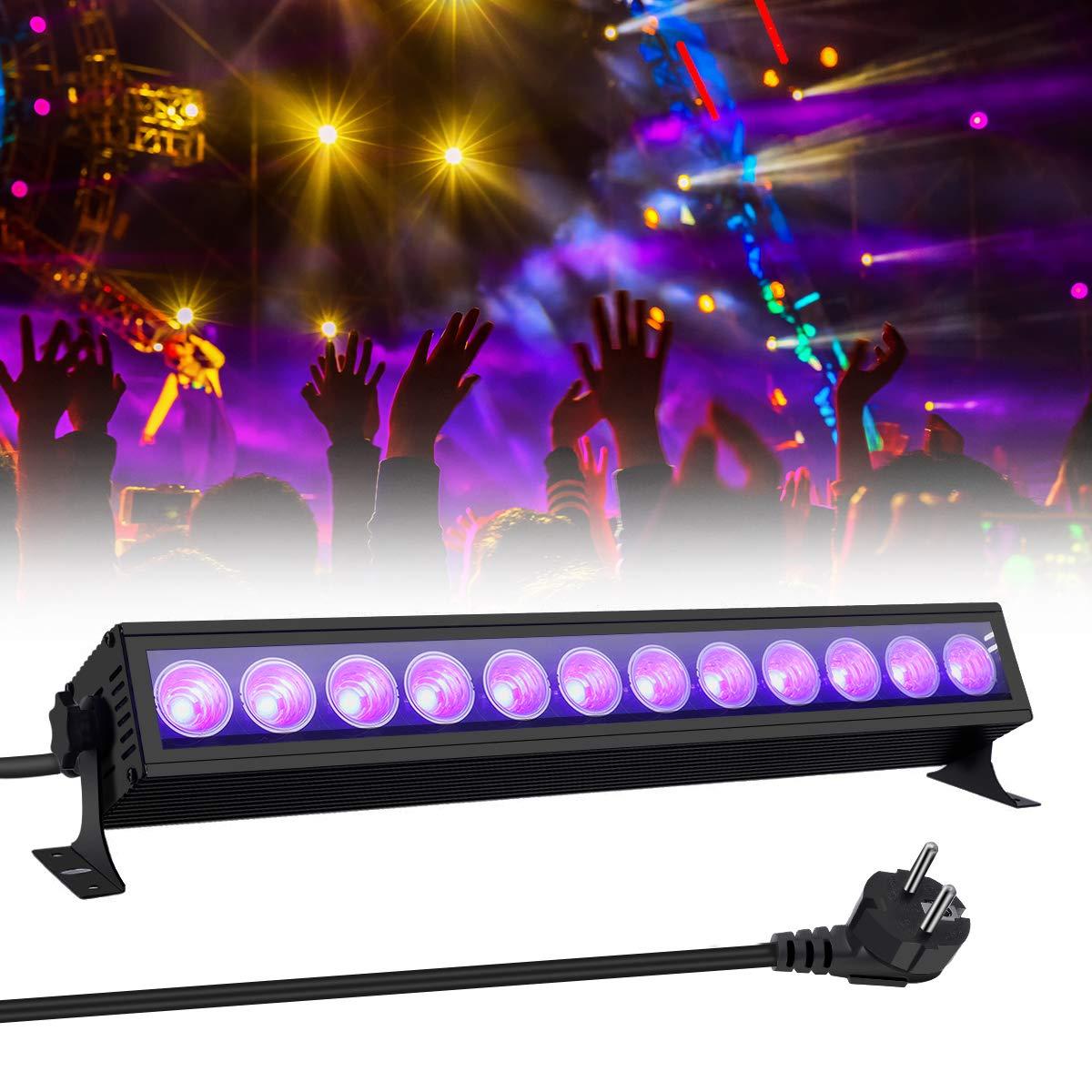 UV Beleuchtung, GLIME Schwarzlicht UV LED Lichteffekt