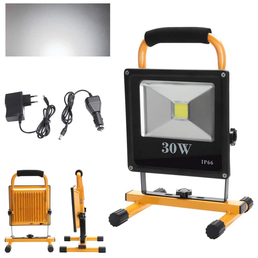 fsders B-1-HG3407 VINGOLED Akku Strahler 4800MA Handlampe Worklampe
