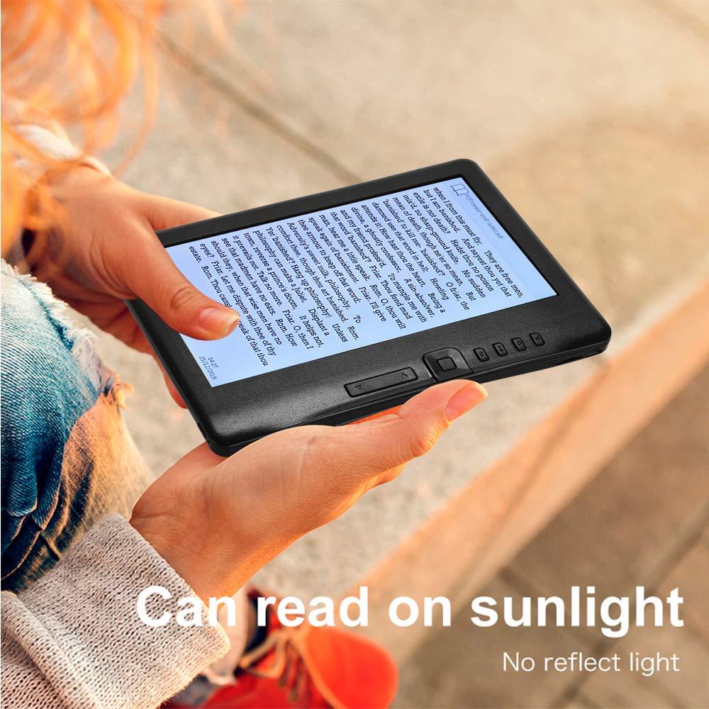 Aibecy K7019 E-Book Reader E-Reader Farbbildschirm Blendfrei 7 Zoll