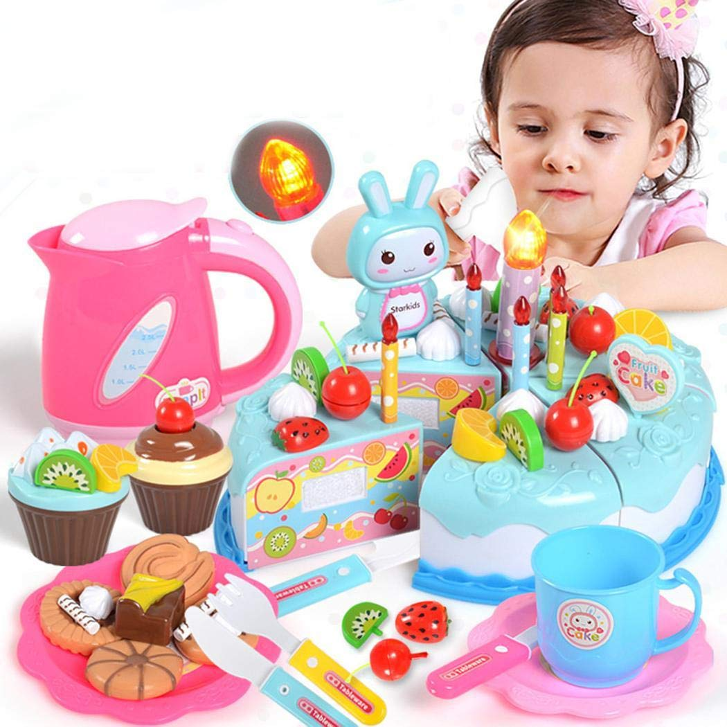 cietact Kindergeburtstagstorte Spielzeug Set