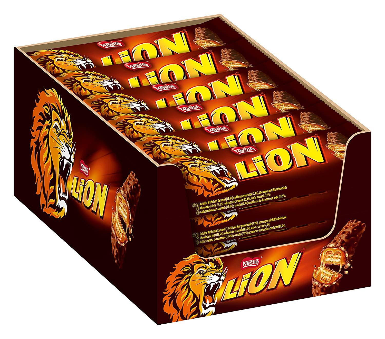 Nestlé LION Schokoriegel mit Karamell 24er pack