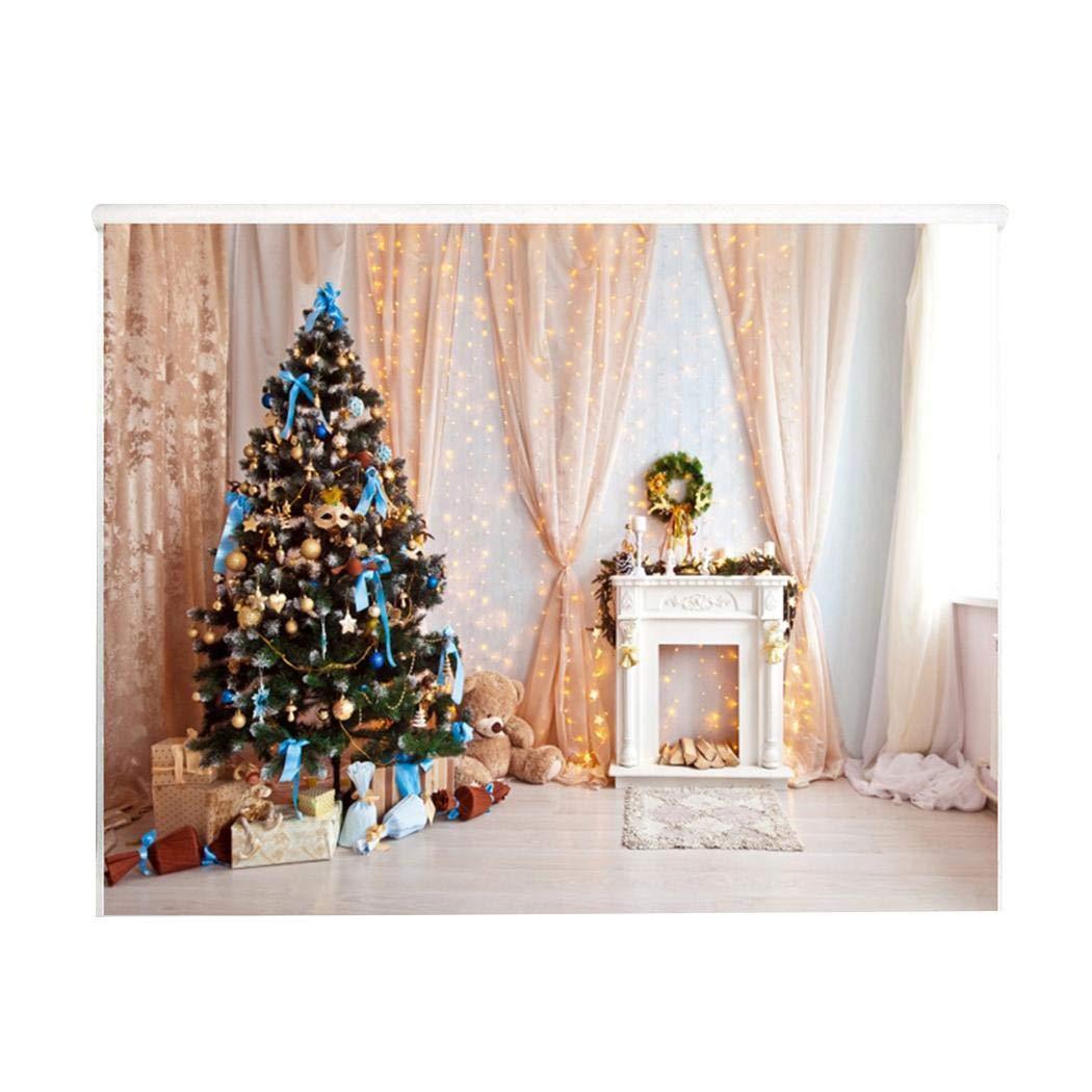 Weihill Tragbarer Druck-Weihnachtsart-zusammenklappbarer Fotografie-Hintergrund