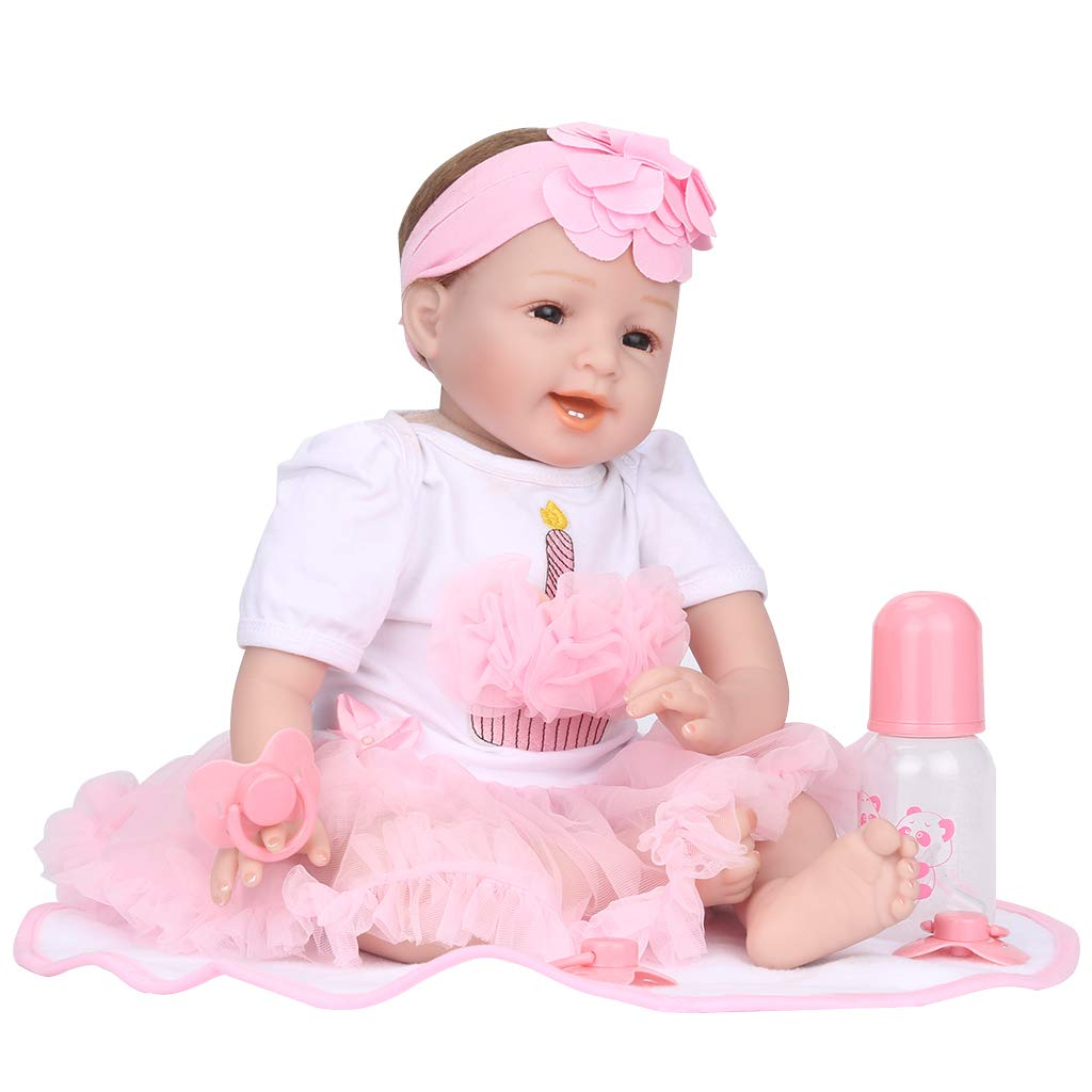 Shinehalo Lebensechte Puppe Baby Doll