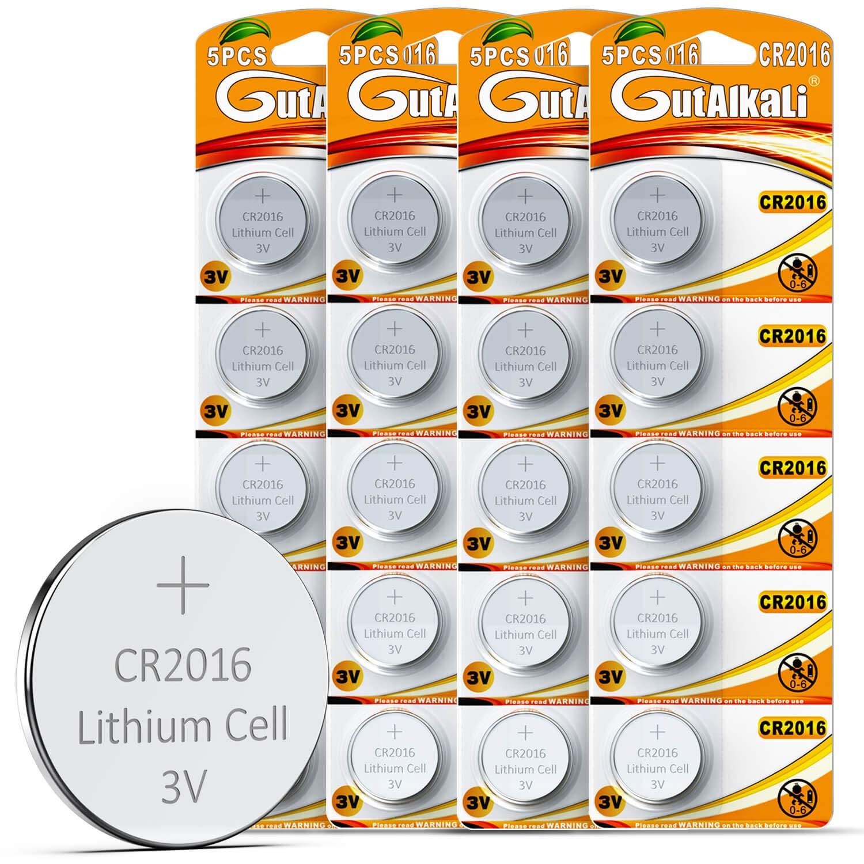 CR2016 Batterien 20 Stück
