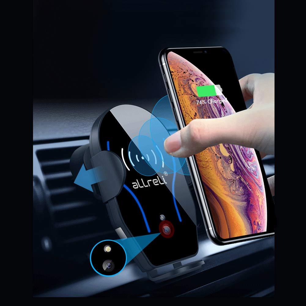 TEST: aLLreLi Qi Handy Halterung für Auto,Induktions Autohalterung Air Vent Phone Holder