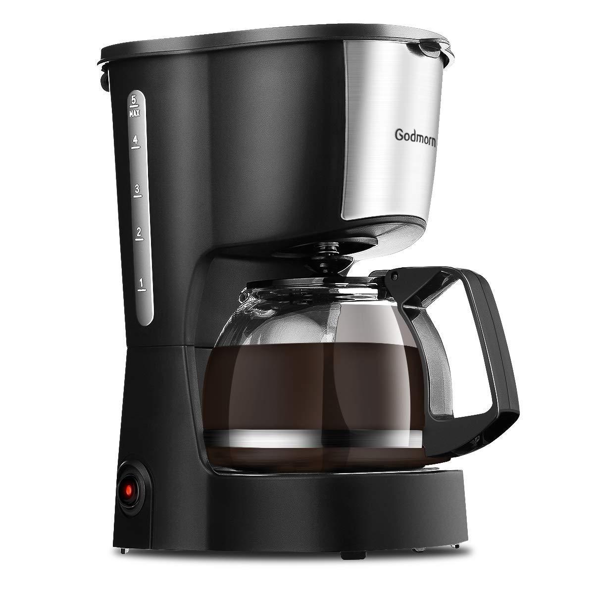 Godmorn Kaffeemaschine, Filterkaffeemaschine Automatische Endabschaltung