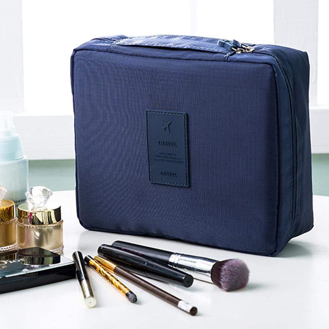 Portable Waterproof Print Kosmetiktasche Aufbewahrungstasche Reise Make-up Tasche Kosmetikkoffer