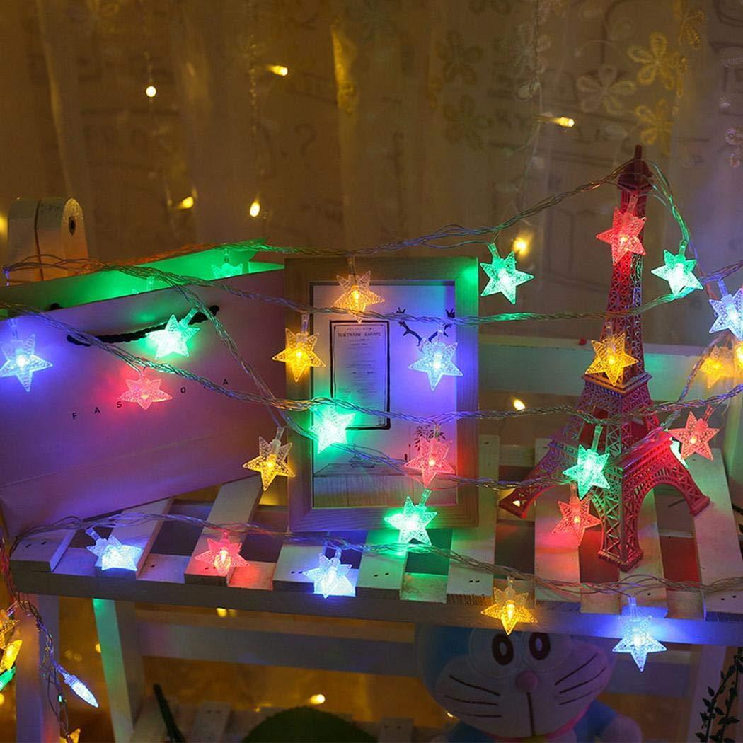 Hauptschlafzimmer-Stern-geometrischer Warmer LED-Vorhang-Licht-Streifen Spezial- & Stimmungsbeleuchtung