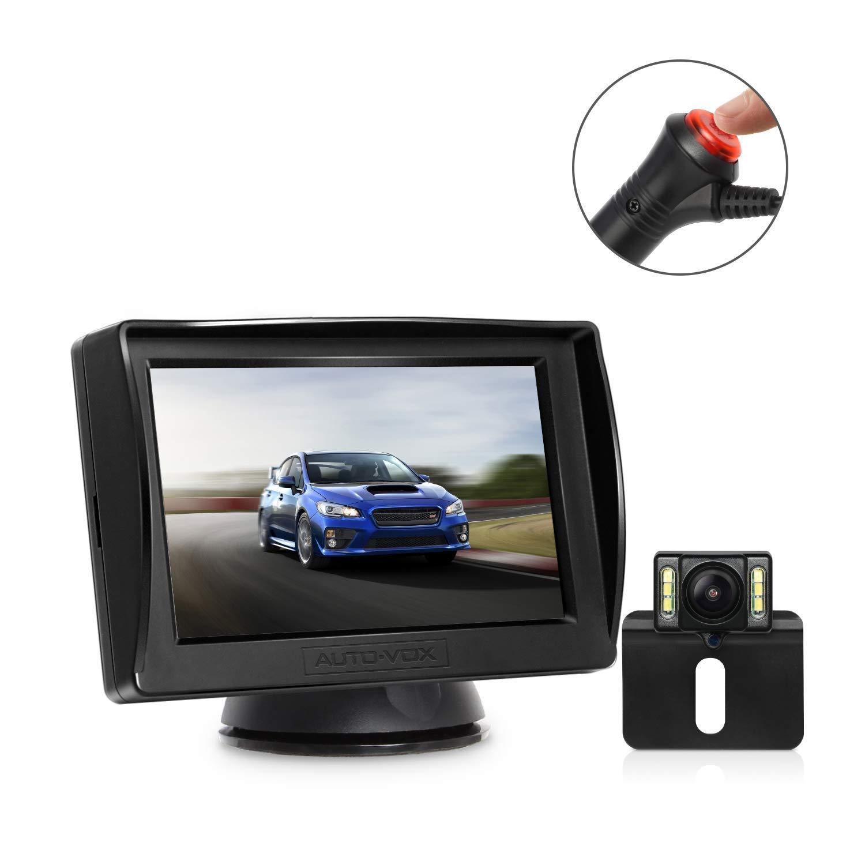 "AUTO-VOX M1PRO Rückfahrkamera Set mit 4,3"" TFT LCD Monitor"