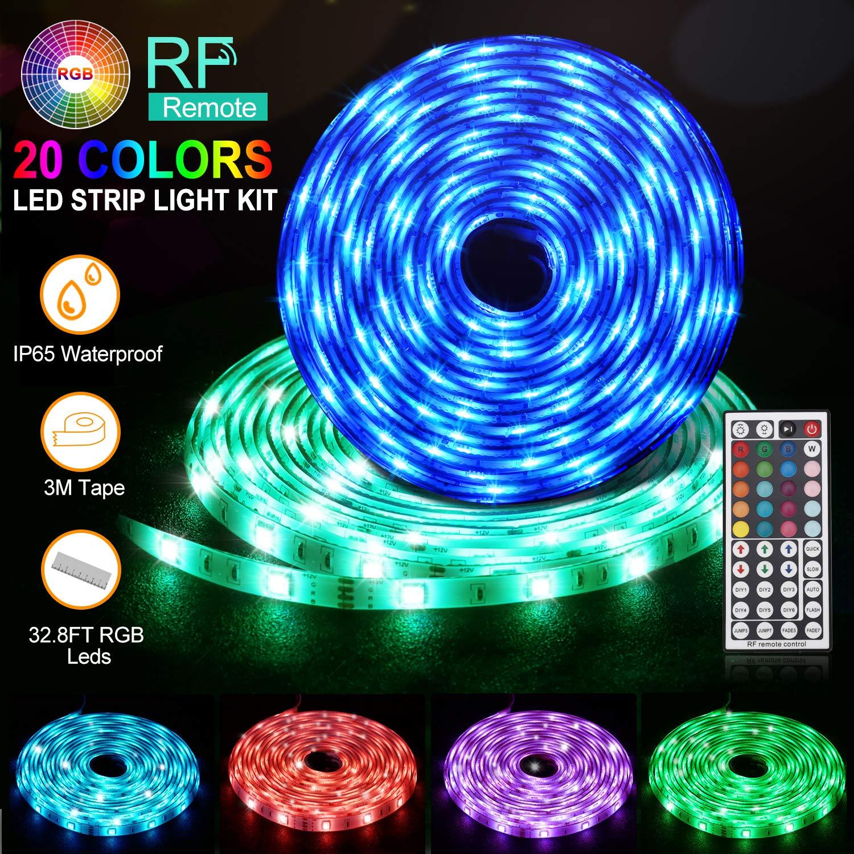 LED Streifen, Daufri Led Strips Licht Band 32.8Ft