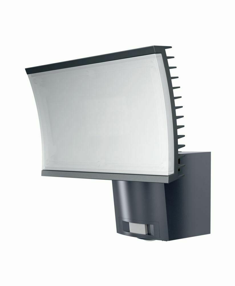 Osram LED Außenleuchte Noxlite 40 W mit Bewegungsmelder Alu Wandleuchte IP44