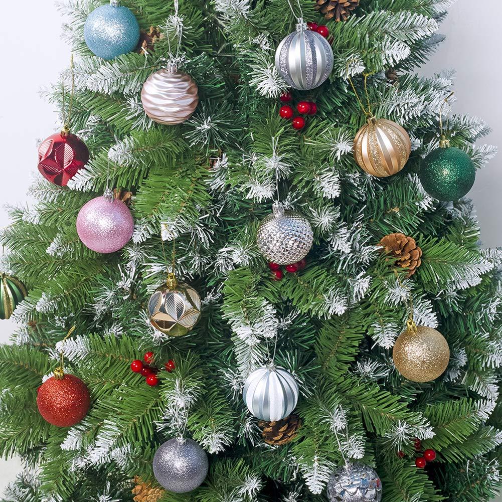 Yhomie Weihnachtskugeln 12 Stücke