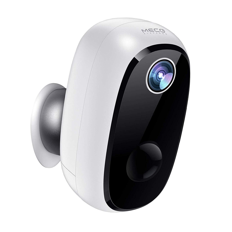 MECO ELEVERDE Outdoor WLAN Kamera, Überwachungskamera mit Akku