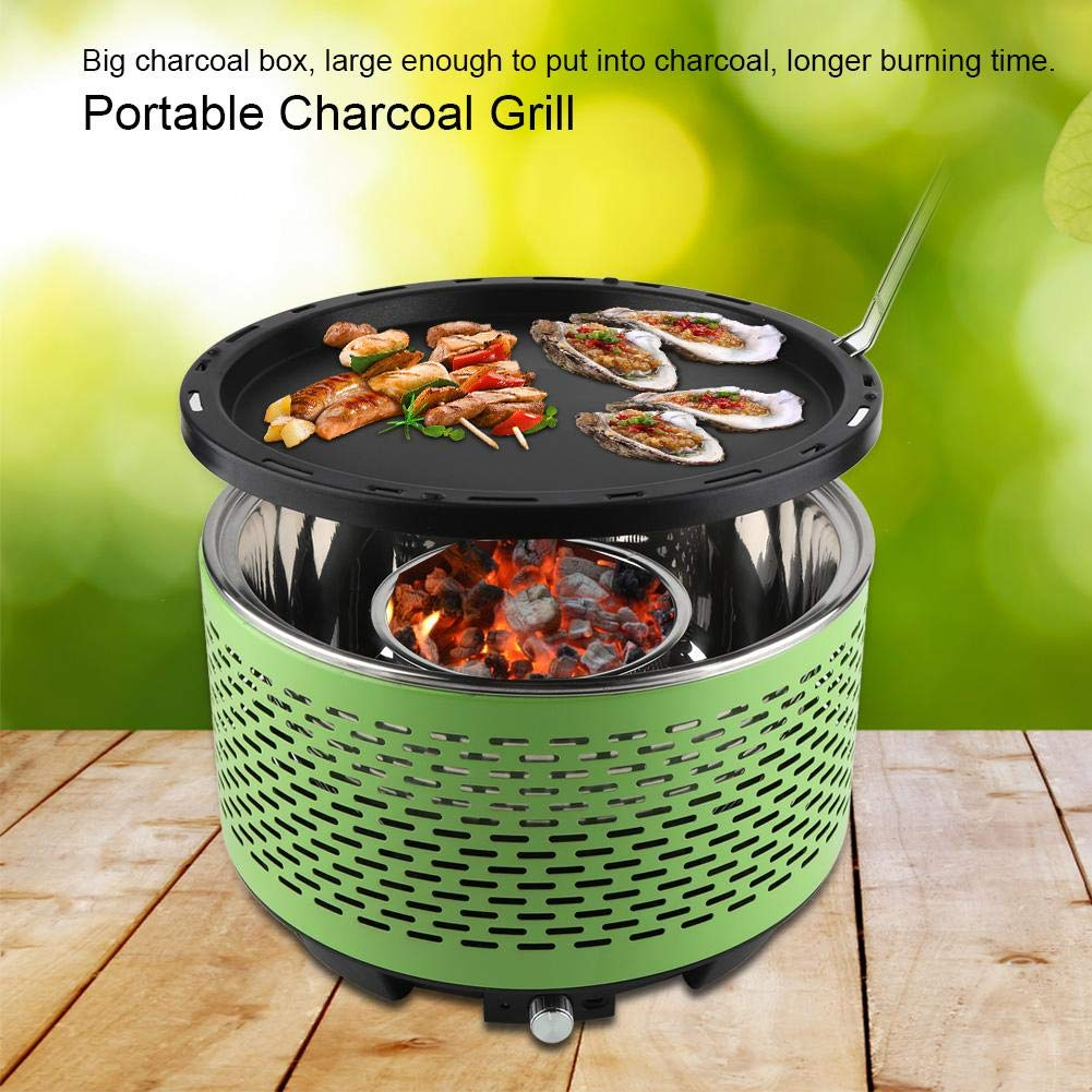 50% off Tragbarer Holzkohlegrill(Shipped from DE warehouse)