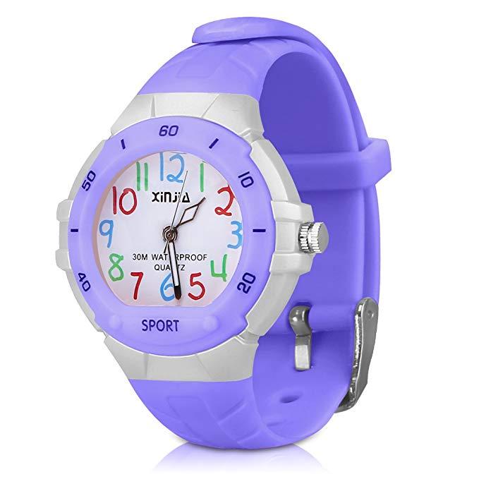Kinderuhr Armbanduhr Analog für Junge