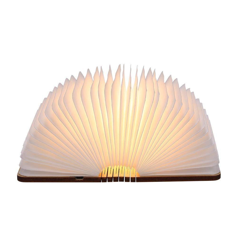 Tomshine Stimmungsbeleuchtung,Buch Lampe,Nachttischlampe,Tischleuchte