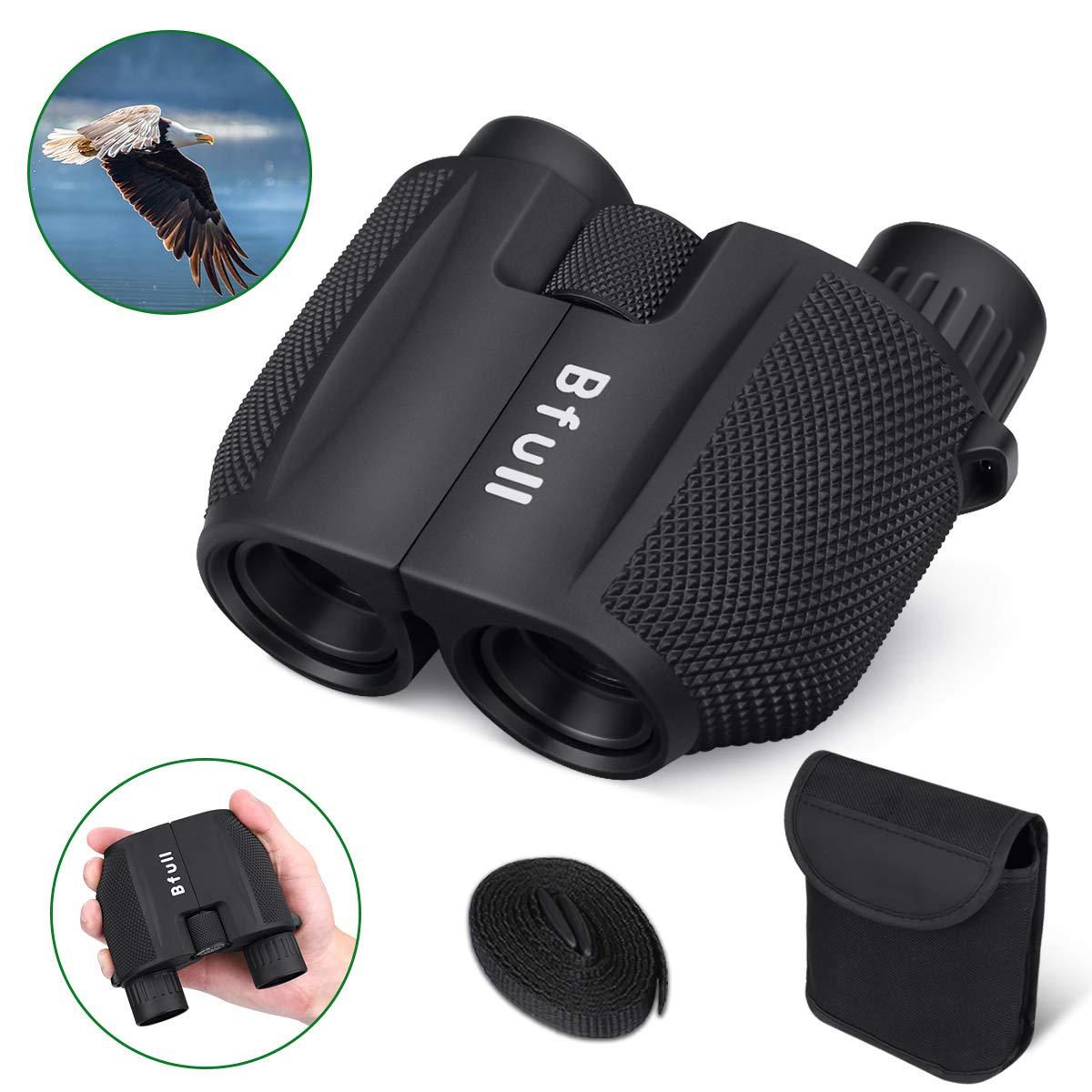 BFULL 10×25 Kompaktes HD-Fernglas für Erwachsene und Kinder