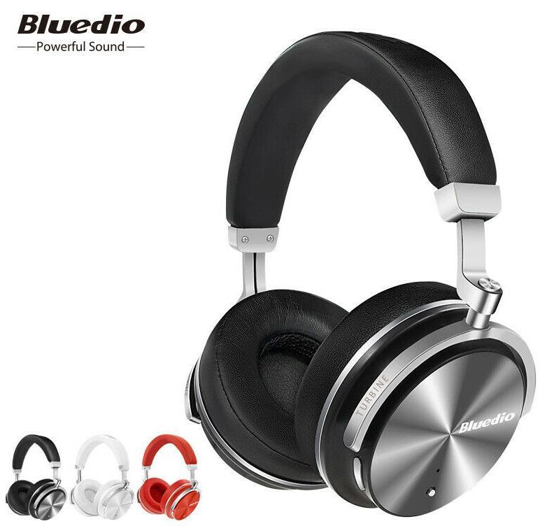 Bluedio T4S Bluetooth Kopfhörer Active Noise Cancelling Kopfhörer Wireless