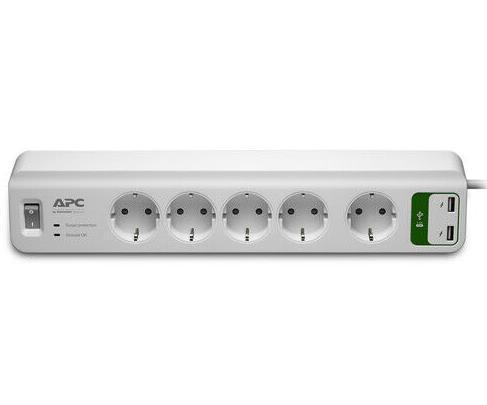 APC PM5U-GR Essential SurgeArrest 5-fach USB (Überspannungsschutz)