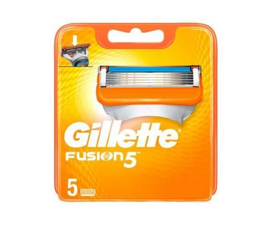 Gillette Klingen Fusion – 5 Stück