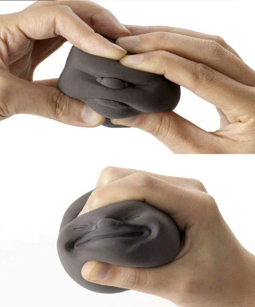 New-lustige Spielzeug-Druck-Helfer Druck Anti-Stress-Squeeze Gesichts-Kugel
